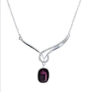 Celebrity Night Crystal Necklace